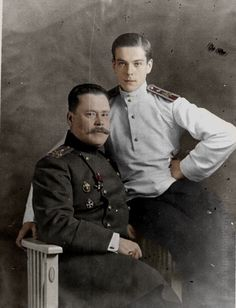 "Prince Vladimir Paley.A genius; at the age of 10 he spoke five languages, he then started to write novels and poems. At the age of 17 Vladimir entered Russian Imperial Army and took part in WWI. In 1918 a 21-year old Vladimir was murdered by Bolsheviks in Alapaevsk together with Grand Duchess Elizaveta (""Ella"") and other six members of the Romanovs. Known, Bolsheviks offered Vladimir to save his life if he signed a paper renouncing his father. But he  refused..."