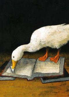 Animales lectores (ilustración de Yusuke Yonezu) — con Julieta Gonzales y Marco Antonio Molina Nieto.