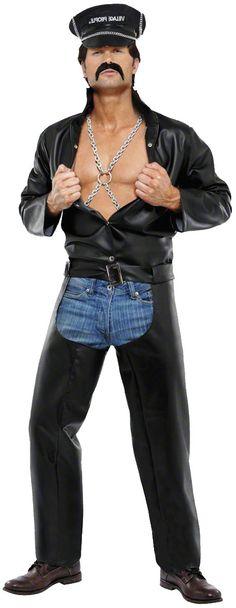 Le déguisement de motard en cuir des Village People (la tenue de Glenn Hughes), idéale pour donner un coup de chaud au disco en ce début d'automne !