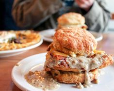 Pine state biscuits Portland or Pizza Heaven, Star Donuts, Middle Eastern Restaurant, Cuban Restaurant, Apple Fritters, Fried Chicken, Salmon Burgers, Portland, A Food