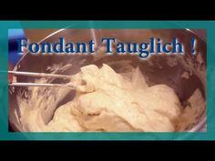 Französische Buttercreme zum einstreichen von Torten - Fondanttaugliche Buttercreme - YouTube