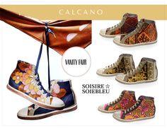 Роскошь может быть удобной!  Отличным примером тому стали шелковые кеды из коллекции Soisire Soiebleu весна-лето 2014. Кеды #SoisireSoiebleu уже успели обзавестись поклонницами по всему миру и даже украсили страницы глянцевого издания Vanity Fair (Italy).  Закажите их на сайте calcano.ru прямо сейчас! #calcano #calcanoru #calcanocom #trend #shoes