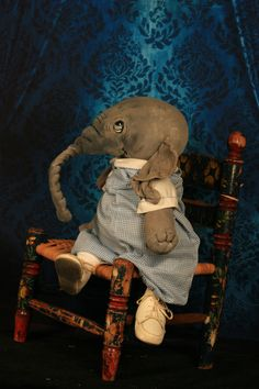 Elephant one of a kind by Jan Shackelford
