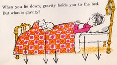 Gravity is a Mystery by my vintage book collection (in blog form), via Flickr