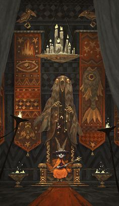 Throne Room on Behance