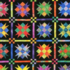 Debby Kratovil Quilts: An Antique Quilt Updated: The Royal Star Quilt