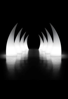 horn, light sculpture by PLUST collection 2008