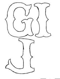Free Templates For Letters Interesting Appliques  Free Templates Letters And Directions  Pinterest .