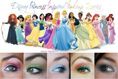 Agape Love Designs: Disney Princess Inspired Makeup Series - In case I ever decide to actually dress up for Halloween. Disney Eye Makeup, Disney Inspired Makeup, Disney Princess Makeup, Disney Inspired Fashion, Disney Fashion, Beauty Makeup, Hair Makeup, Hair Beauty, Architecture Design