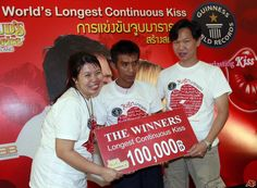 worlds longest kiss
