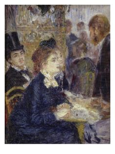 At the Cafe Giclee Print by Pierre-Auguste Renoir at Art.com