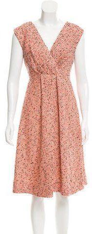 Chris Benz Tweed Abstract Dress