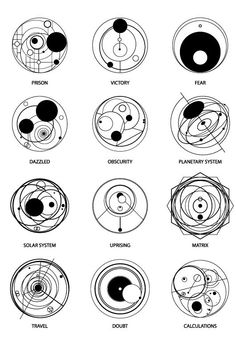 Gallifreyan Travel for a tattoo