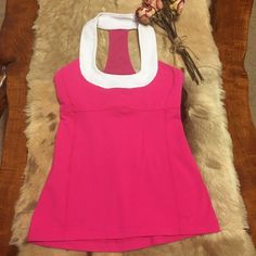 ⭐️LULU TANK TOP⭐️ in GOOD CONDITION SCOOP NECK TANK TOP SIZE 4 ⭐️PRICE FIRM⭐️ lululemon athletica Tops Tank Tops