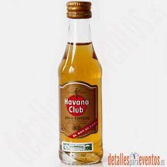 Comprar botellitas mini botellas de Ron Havana Club Añejo Especial de 5cl. al mejor precio. detalles para tus invitados. Venta online de miniaturas como detalles de boda, regalos bautizo, detalle comunión, regalos empresa