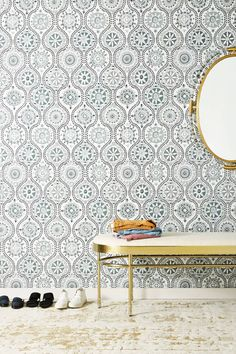Shop the Antoinette Wallpaper and more Anthropologie at Anthropologie today. Read customer reviews, discover product details and more.