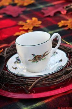 Tea Time in Autumn