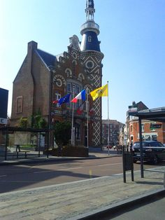 Hotel de ville de Wambrechies - Flandre -France | Town Hall and belfry - Flanders - North France