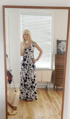 I've been asking for a maxi dress since day one, but Stitch Fix keeps sending them to everyone but me. LOVE this one