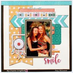Scrapbooking Ideas | Scrapbook Page | 12X12 Layout | Creative Scrapbooker Magazine #scrapbooking #12X12layout