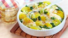 Kartoffelauflauf+mit+Spinat+und+Kohlrabi+Rezept+»+Knorr