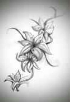 Gorgeous flower tattoo