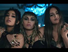 The music video for 'Don't Call Me Angel' – Miley Cyrus, Ariana Grande and Lana Del Rey's theme song for 'Charlie's Angels' – is out. Naomi Scott, Miley Cyrus, Lost Frequencies, Rick Astley, Elizabeth Banks, Meghan Trainor, Mariah Carey, Kristen Stewart, Demi Lovato