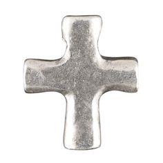 Casting Charm-14x17mm Cross-Antique Silver-Quantity 1 from Tamara Scott Designs