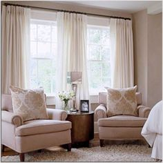 Image result for curtain ideas for big windows