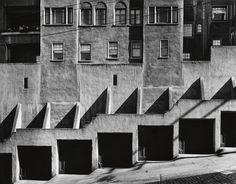 Max Yavno. Garage Doors, San Francisco. 1947