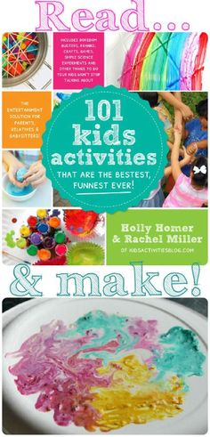 Colourful Milk Explosions Activity - In The Playroom