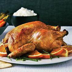 Best Brined Roast Chicken   MyRecipes.com