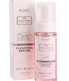 Mixed Berry Brightening Cleansing Mousse 150ml. by beautybuffet. $24.00. Cleans your face and make-ups within one step. Gently washes your face. 150 ml. No irritation. 2 in 1 product, a cleansing and makeup in one step. Eliminate purely cosmetic. Soft foam mousse is easy to wash off skin irritation. Enriched with extracts of Berry and fruit extracts of eight species with AHA BHA and Fruit Extract help in the exfoliation gently. Vitamin B5 acne and reduce the moisture to the sur...