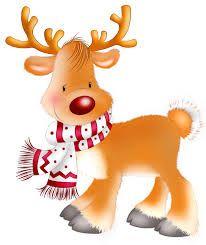 CHRISTMAS REINDEER •