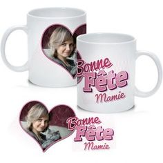 Mamie aussi à le droit à son mug personnalisé ! Bientôt la fête des grands-mères ;-) #Mug #Mamie