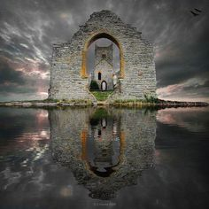 Castle Ruins, Loc Ard, Scotland - Photo by S. Howse