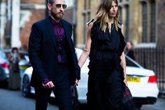 Street style на Неделе моды в Лондоне. Часть 1   Мода   VOGUE