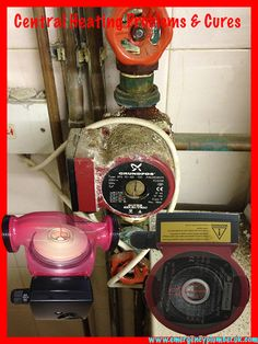 What does a central heating pump look like, where the central heating water passes by. This article includes central heating pump problems and there cures.