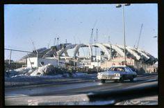 Stade Olympique construction