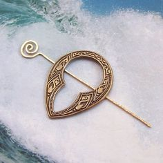 Celtic Shawl Pin Celtic Scarf Pin Celtic by SterlingSimplicity, $18.00