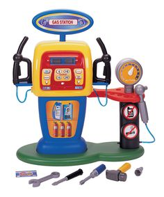 This Electronic Self-Service Gas Station by Pavlov'z Toyz is perfect! #zulilyfinds