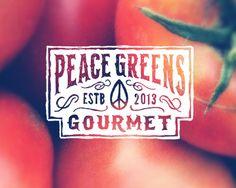 Peace Greens logo by Thinkmule