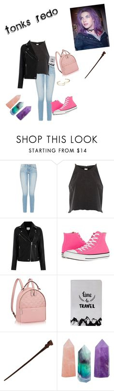 """Tonks Redo"" by grace-granger on Polyvore featuring River Island, Converse and SetFailSoRedo"
