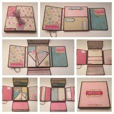 mini scrapbook album tutorial - Google Search