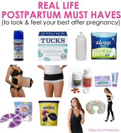 Real Life Postpartum Must Haves to Feel and Look Your Best After Pregnancy