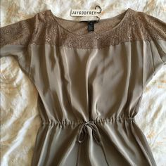 Jay Godfrey Silk Dress Beautiful silk dress with a lace detail. Brand new. Offers welcome. Jay Godfrey Dresses Mini