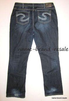 c10084c9336 TORRID SILVER NATSUKI Jeans Womens PLUS Size 20 x 33 2X Faded Dark Wash  Bootcut