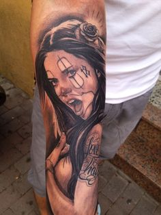 Wanted Tattoo | Realismo y Chicano.(Retratos)