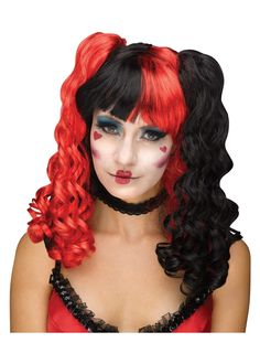 queen of hearts wig - Red Wigs For Halloween