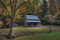 The Whitehead Cabin, Cades Cove by steve_rob, via Flickr